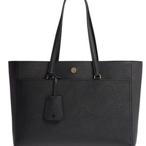 Tory Burch Robinson tote large black